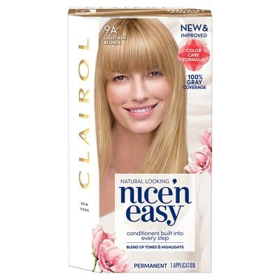 Nice 'N Easy Clairol 9A Light Ash Blonde - 1 kit #lightashblonde