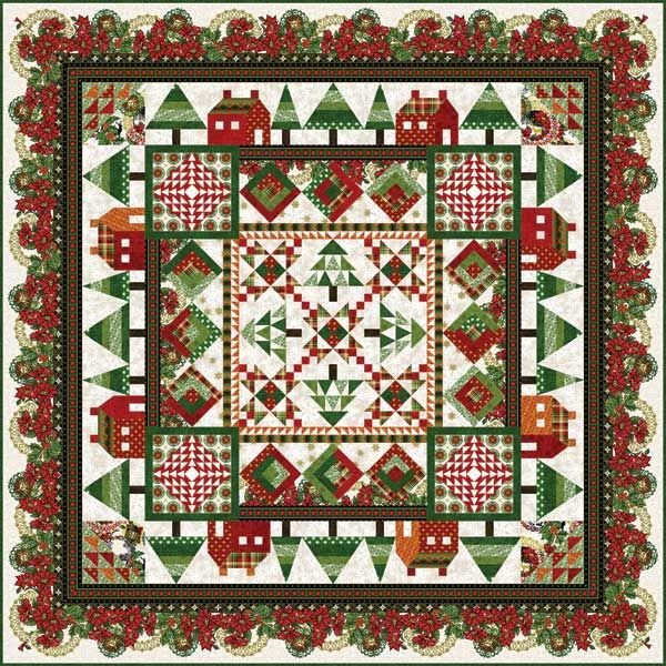 In The Beginning Magic of Winter Sampler Quilt Kit. Quilt measures ... : beginning quilting kits - Adamdwight.com