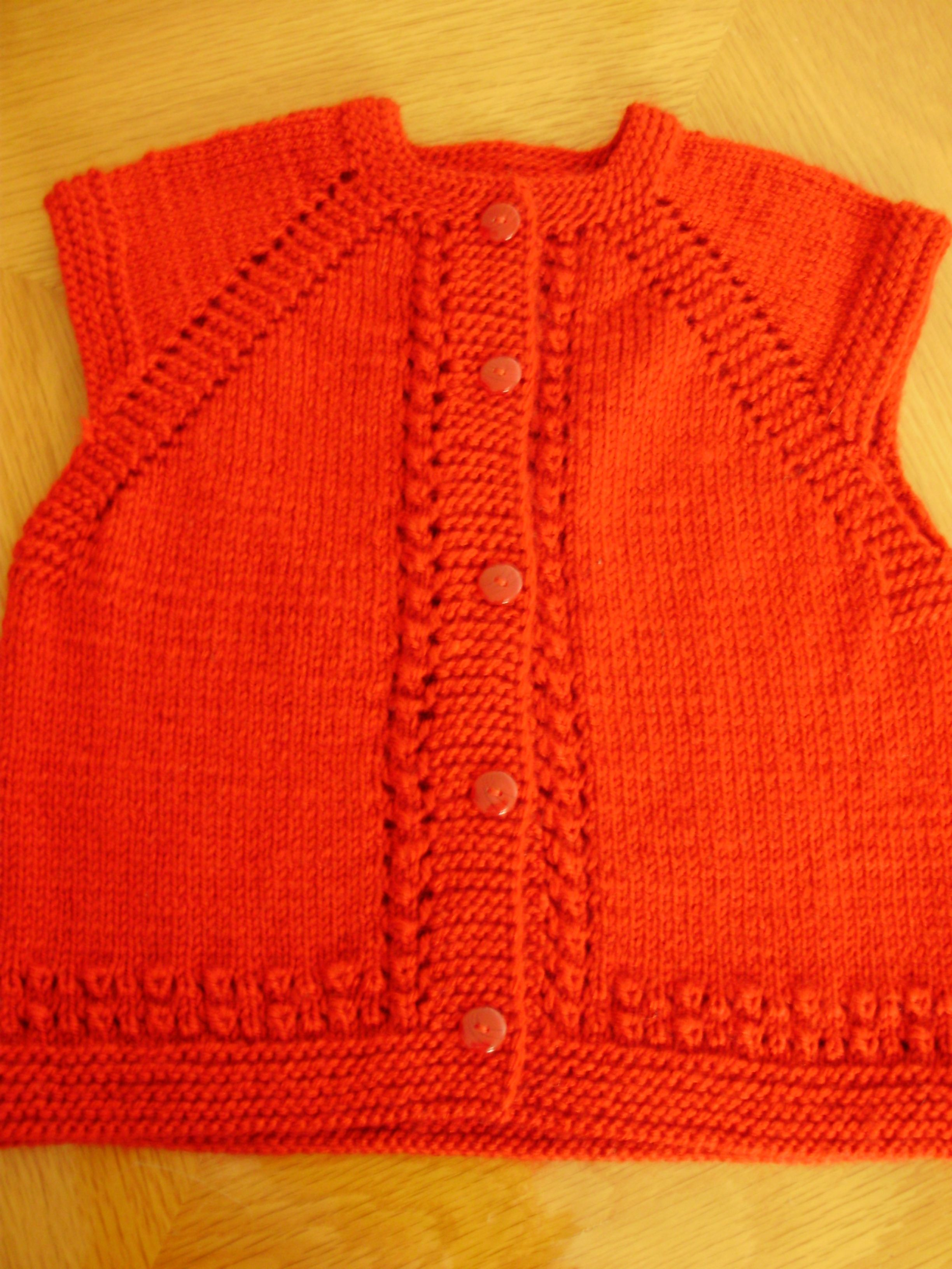 Vest for little ones http://zerrinceelisleri.blogspot.com | Baby ...