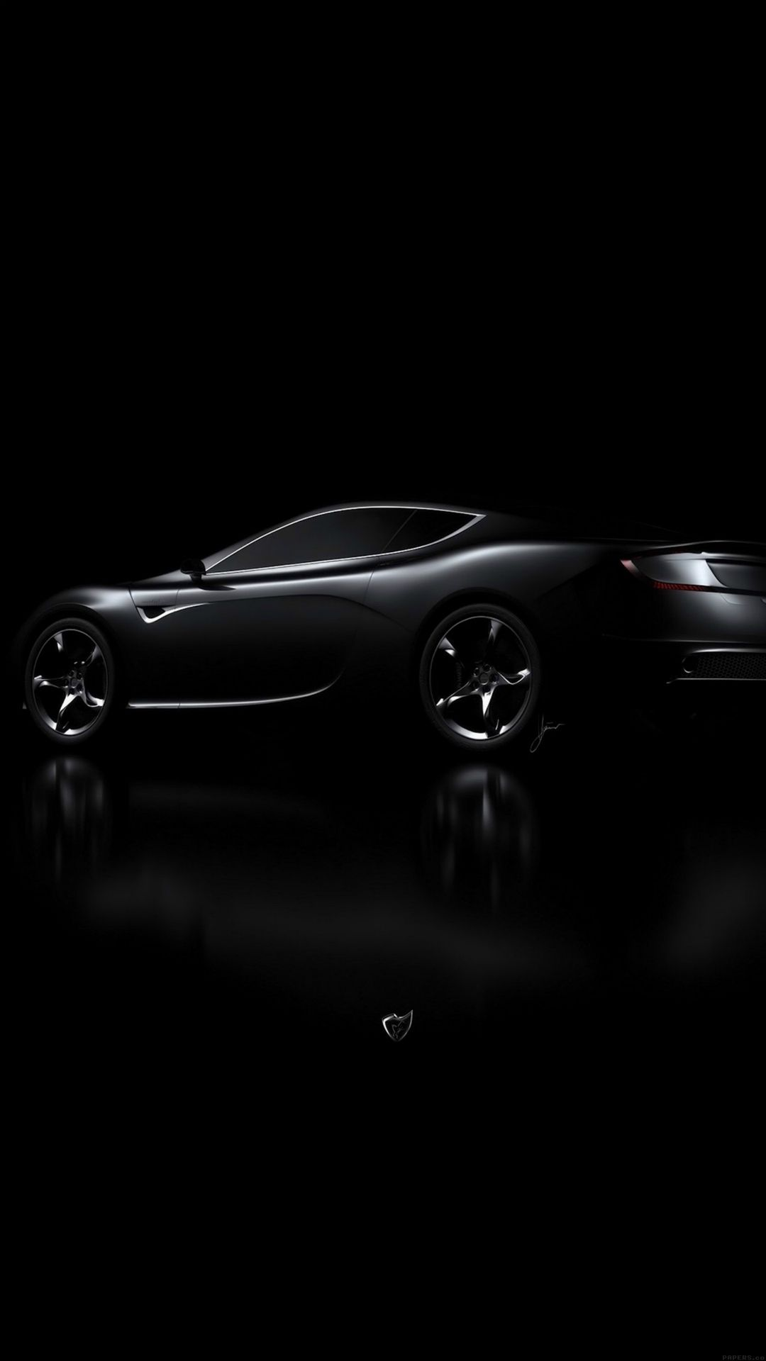Aston Martin Black Car Dark Iphone 6 Wallpaper Download Iphone Wallpapers Ipad Wallpapers One Stop Download Black Car Black Car Wallpaper Car Wallpapers