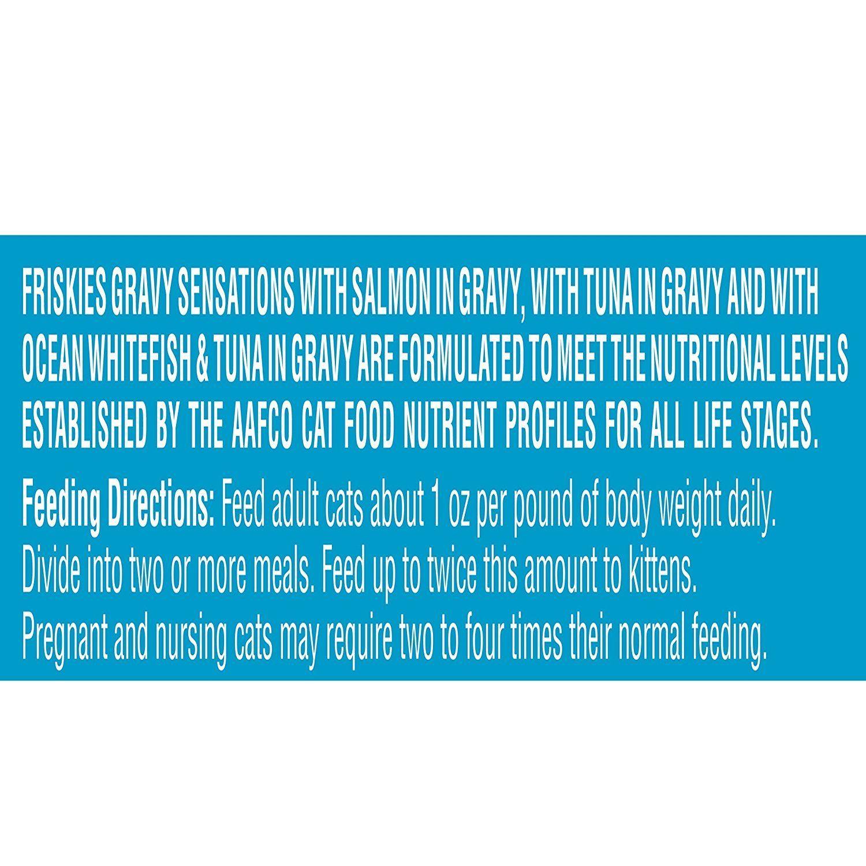 Friskies wet cat food gravy sensations seafood favorites