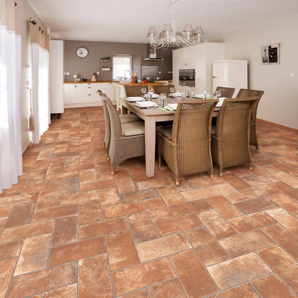 Carrelage Interieur Effet Terre Cuite 20 3x40 6 Montalcino Naturel