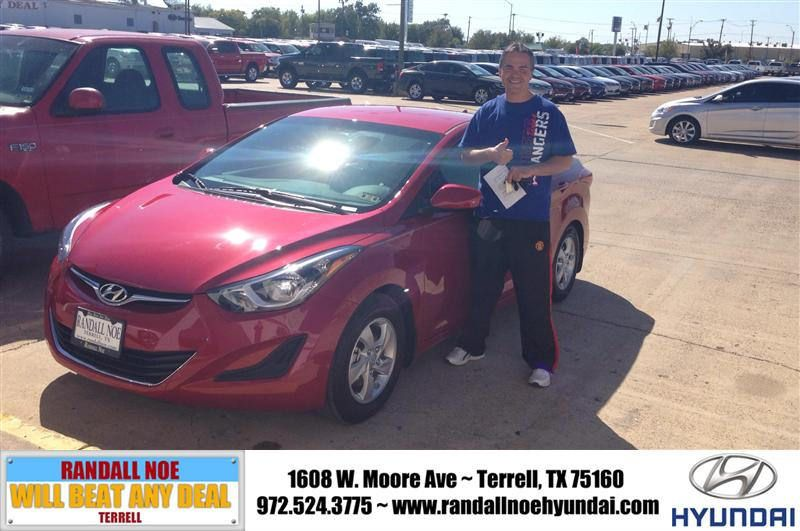 Congratulations To Gerald Moore On Your Hyundai Elantra Purchase