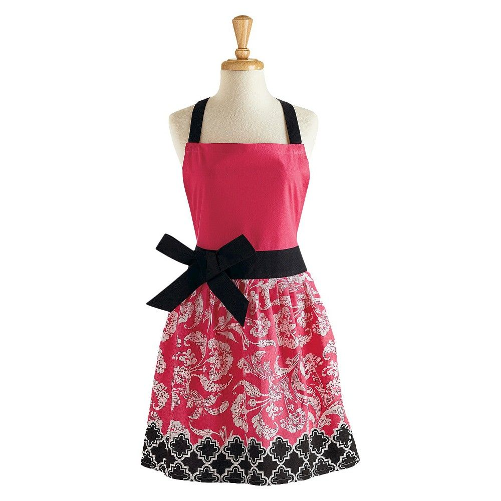 Floral cooking apron for Anthropologie cuisine couture apron