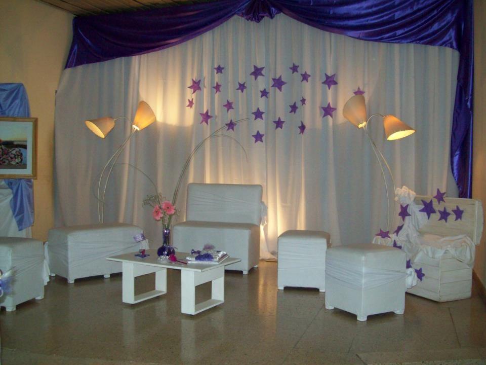 Decoracion y ornamentacion de fiestas buscar con google for Decoracion salon grande