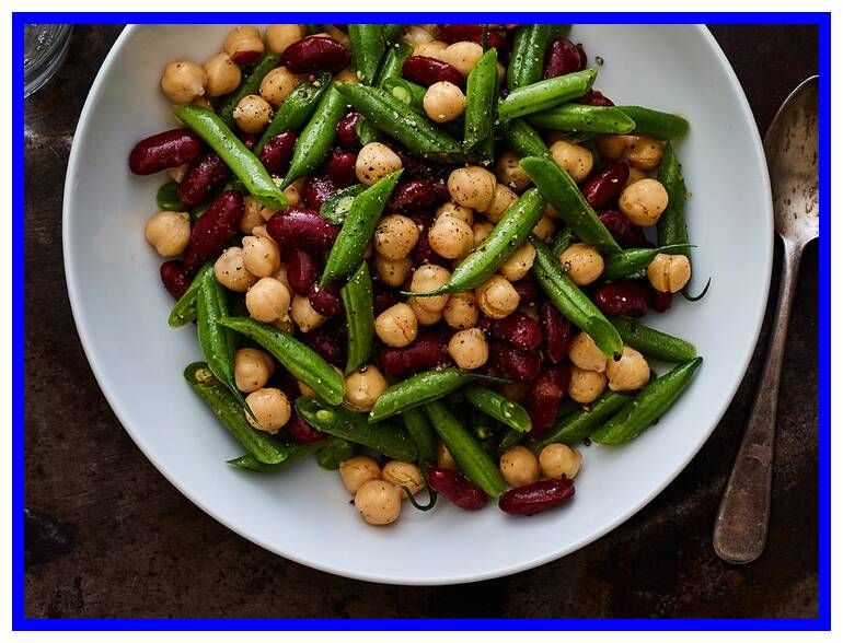 54 Reference Of 3 Bean Salad Recipe The Kitchen In 2020 Bean Salad Recipes Three Bean Salad Green Bean Salad Recipes