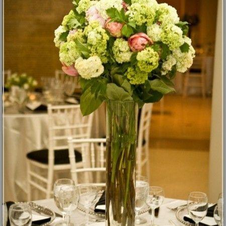 Flower Arrangement Tall Glass Vase Google Flower