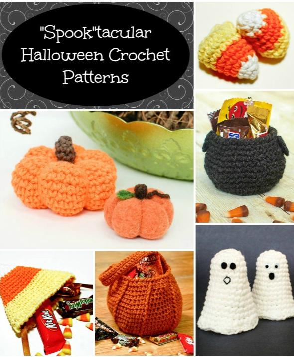 Free Halloween Crochet Patterns | Kaufladen, Stricken häkeln und ...