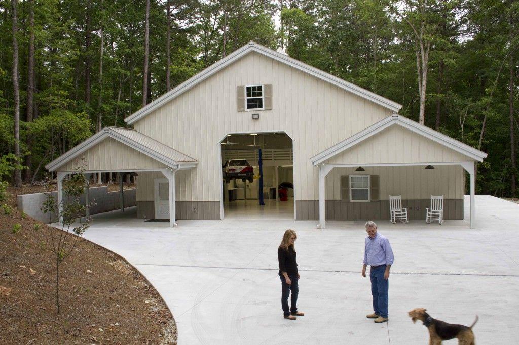 Morton Buildings Garage In North Carolina Hobby Garages