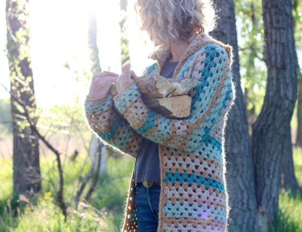 Photo of Easy Crochet Sweater Pattern – The Campfire Cardigan Part 3