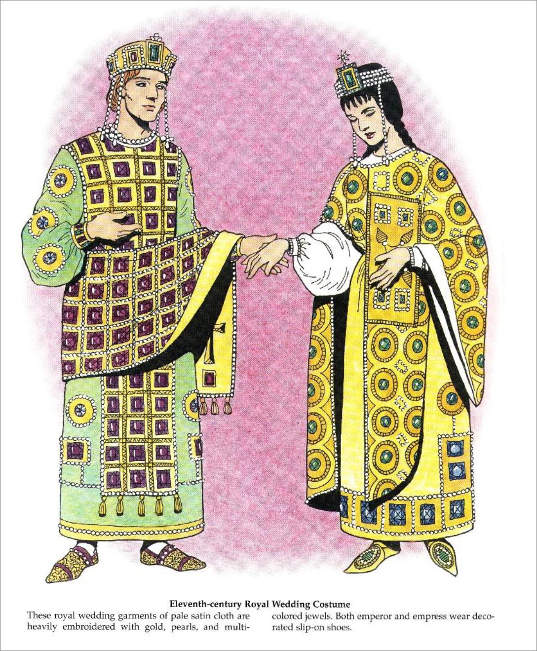 11th Century Royal Wedding Clothing
