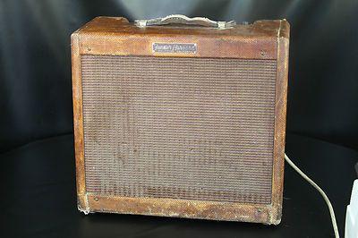 vintage 1950 39 s fender tweed harvard 5f10 electric guitar tube amplifier amp vintage amps. Black Bedroom Furniture Sets. Home Design Ideas