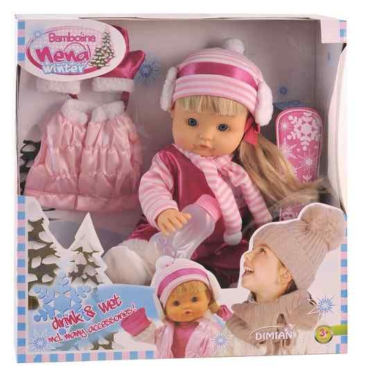 Bambolina Nena Winter Plaspop