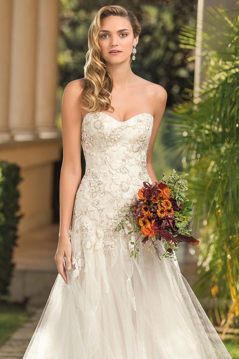Style 2346 Ingrid Casablanca Bridal Casablanca bridal