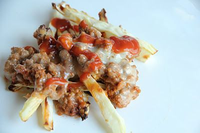 chili fries #paleo