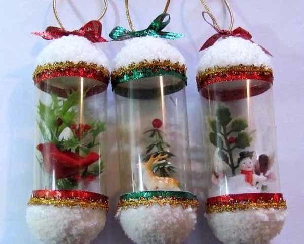 De 250 fotos decoracion navidad 2016 decoracion - Manualidades decoracion navidena ...