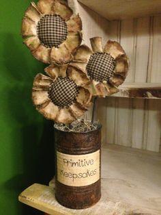 Image result for primitive flower arrangement with black etsy ebay for sale