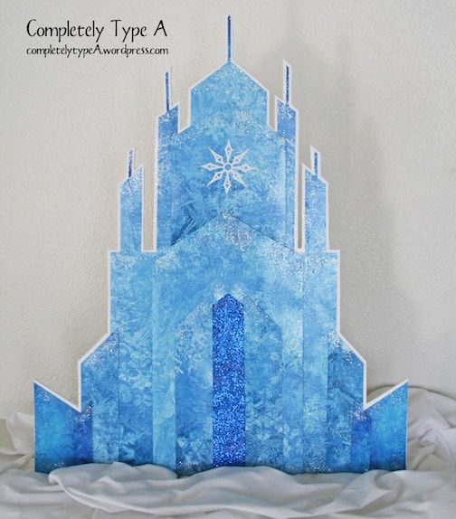How To Make Elsa S Ice Castle From Disney S Frozen Frozen Birthday Frozen Birthday Party Frozen Theme Party