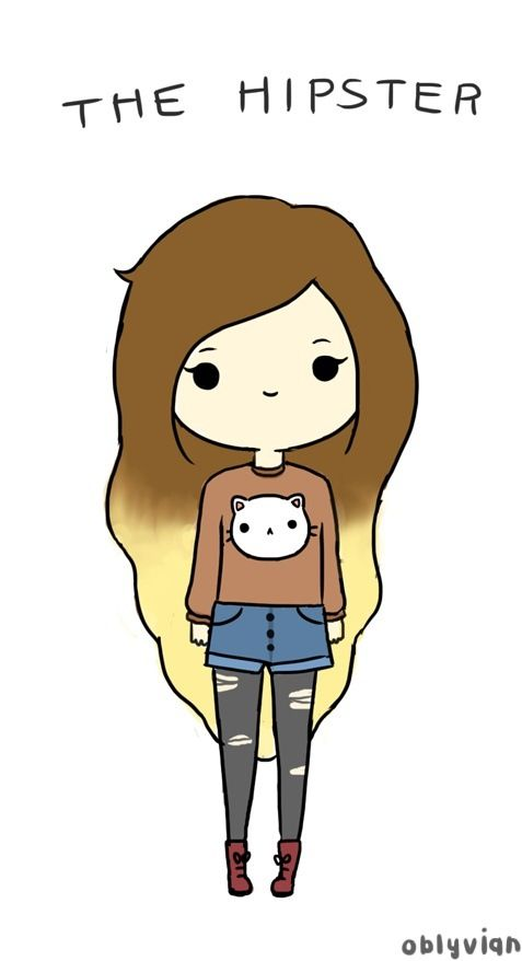 I Don T Know Why I Think This Is Cute Hipster Girl Kawaii Girl