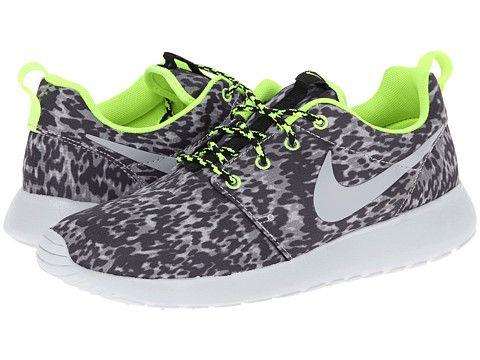 0444592b6851 Nike Roshe Run Cool Grey Volt Black Wolf Grey - Zappos.com Free ...