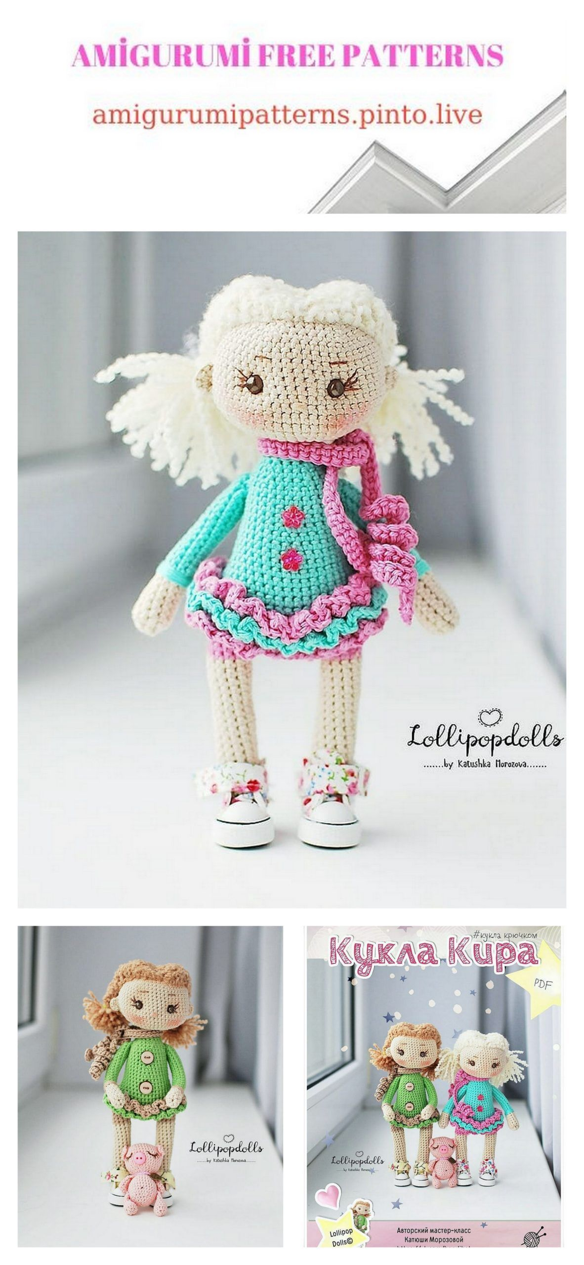 Amigurumi Today: free patterns & crochet tutorials for Android ...   2560x1182