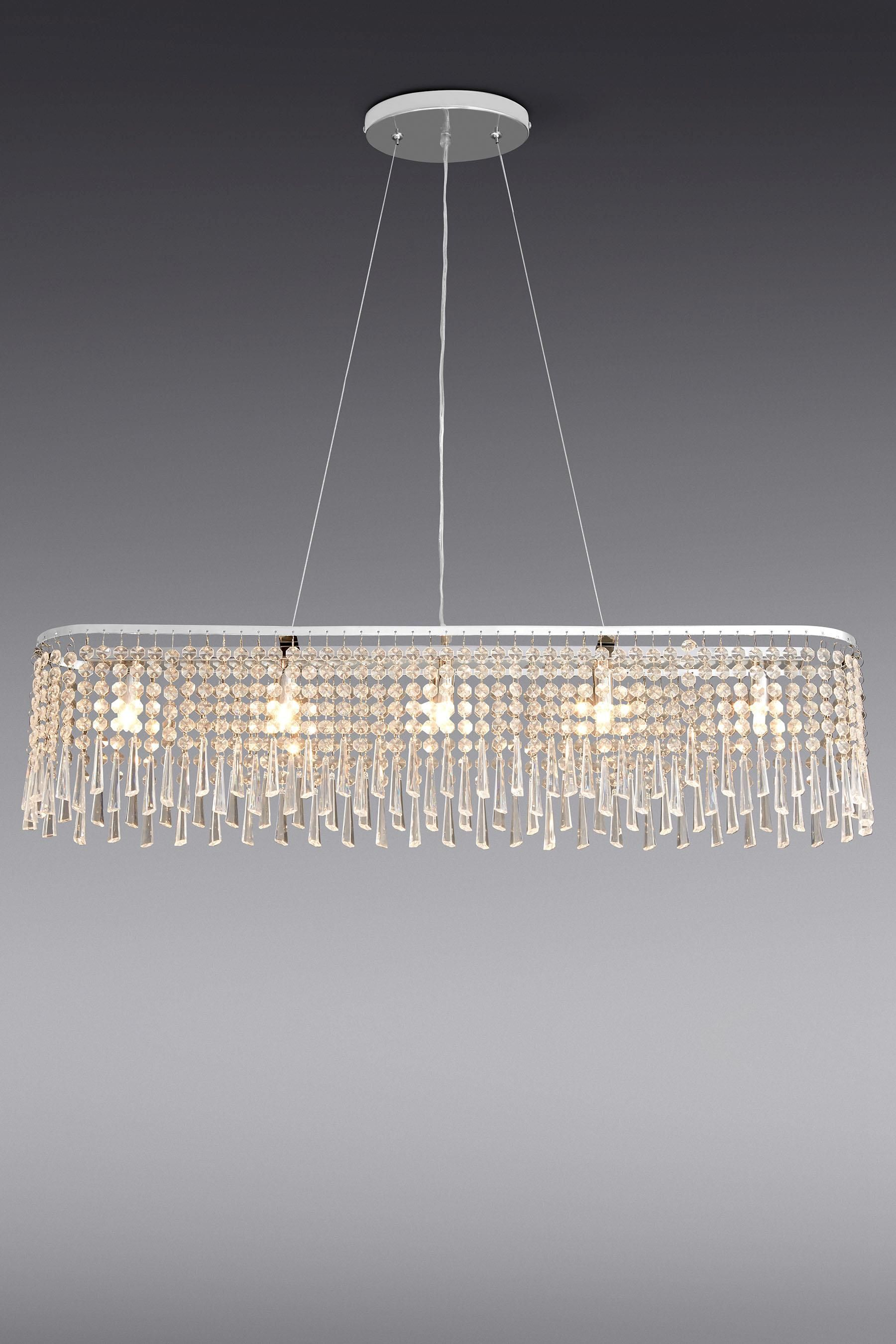 Buy lucy 5 light large beaded linear pendant from the next uk online shop