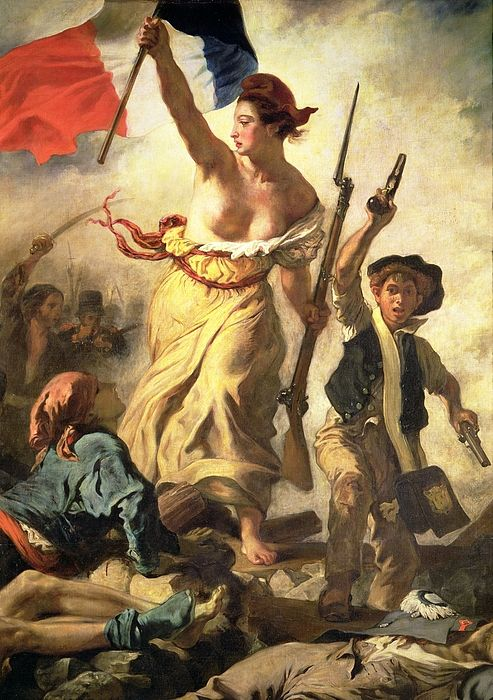 Liberty Leading The People By Ferdinand Victor Eugene Delacroix Liberty Leading The People Eugene Delacroix Ferdinand Victor Eugene Delacroix