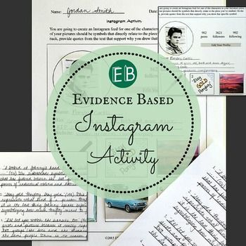 GREAT Evidence Based Instagram Activity