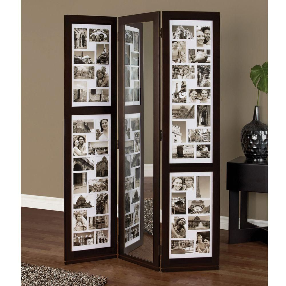 AZ Home And Gifts Preston 5.4 Ft. Espresso (Brown) 3-Panel