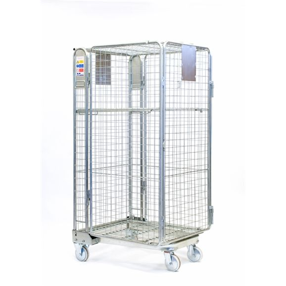 BT500 - Our standard zinc plated parcel cage is ideal for