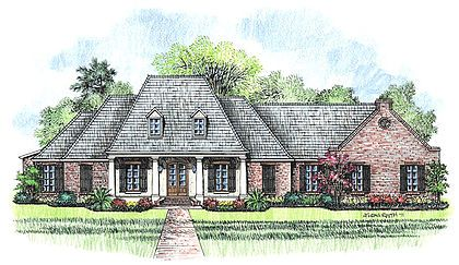 Madden Home Design   Acadian House Plans, French Country House Plans Part 60