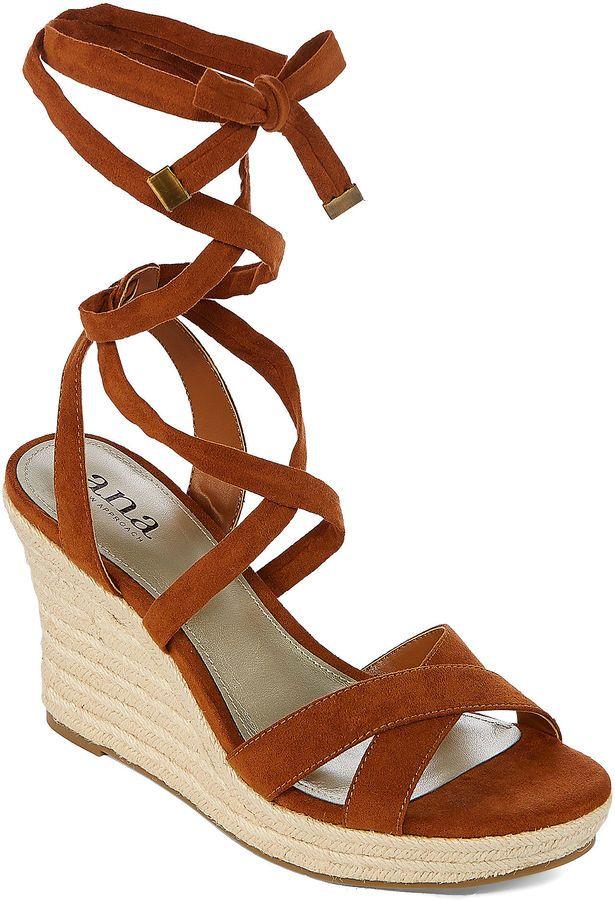 0a517ef6b288 A.N.A a.n.a Maui Womens Wedge Sandals