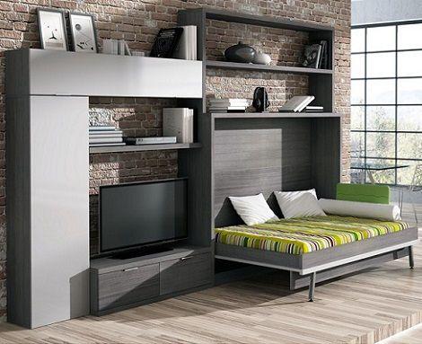 Las mejores camas plegables para ahorrar espacio ideas muebles cama muebles y camas abatibles - Camas muebles plegables ...