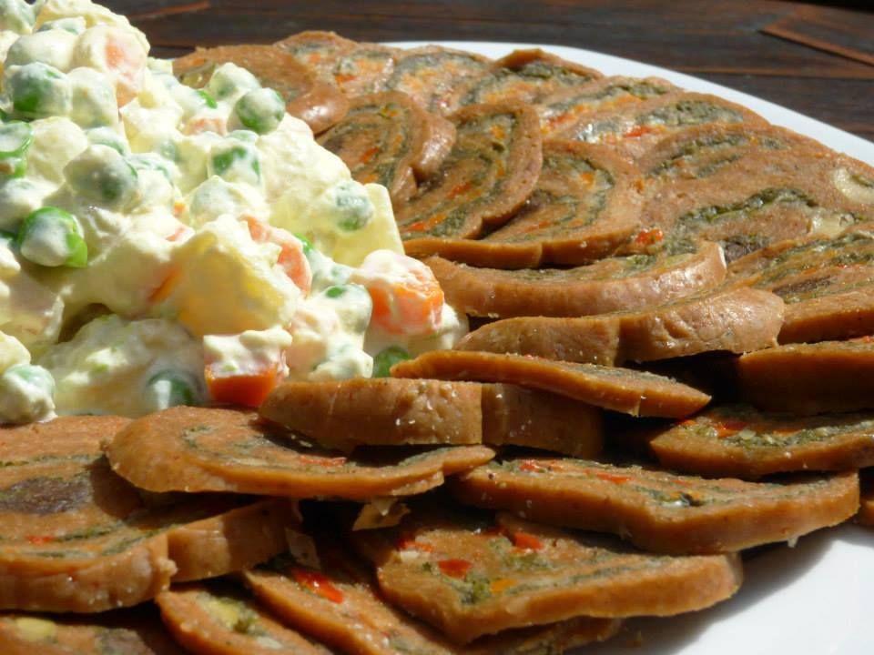 Como Cocinar El Seitan | Matambre De Seitan Con Ensalada Rusa Recetas Veganas