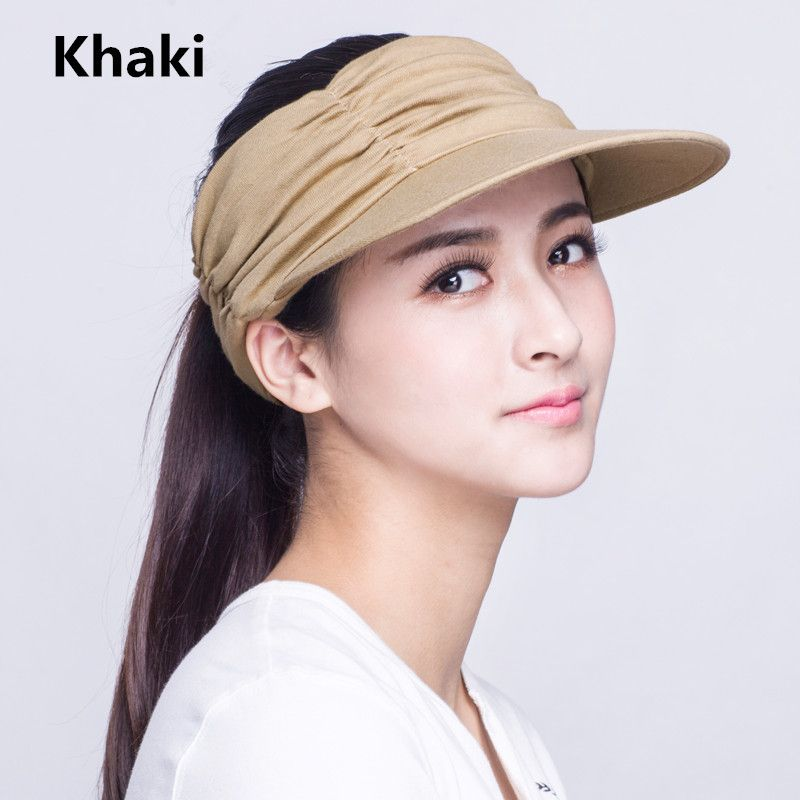 978b2ab81f7 Sun visor hat UV package protection hats for outdoor sports wear ...