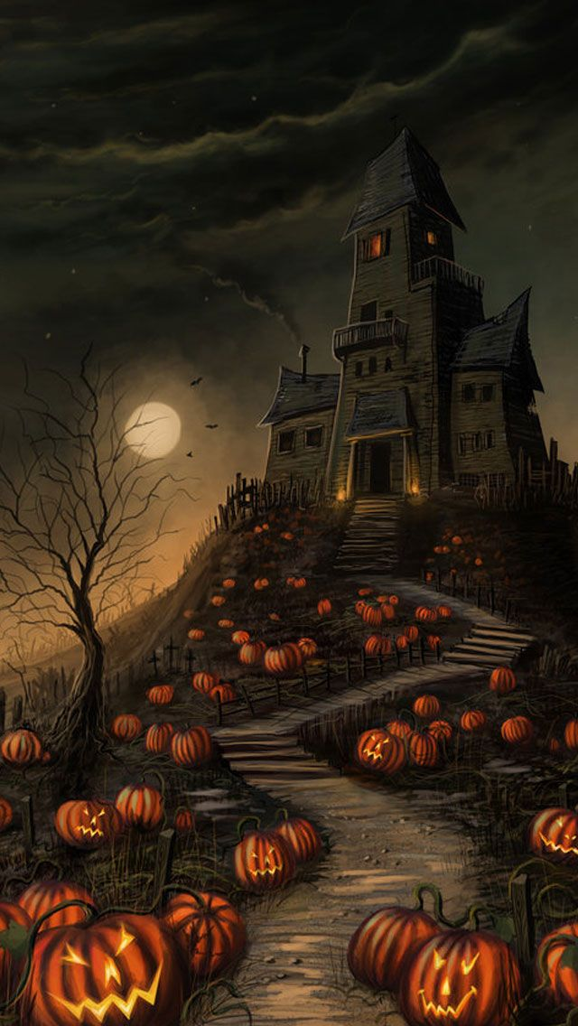 Haunted House Halloween Wallpaper 2017
