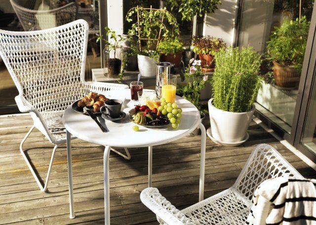 Marie Claire Maison Plein Air Ikea Table Et Chaises De Jardin Deco Salon