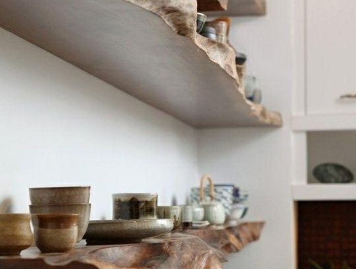 ▷ 1001+ Ideen und Inspirationen für ein DIY Wandregal Pinterest - küchenregal selber bauen