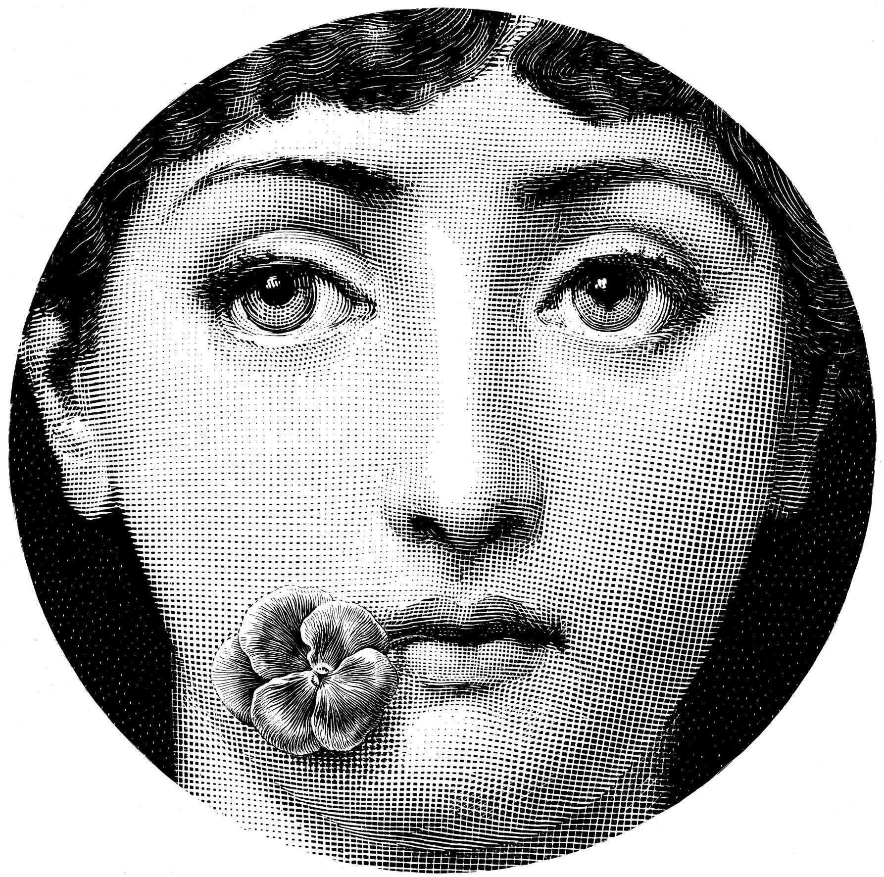 Decorative Face Plates Simple Fornasetti  Szukaj W Google  Transfer Inscriptions Ornaments Inspiration