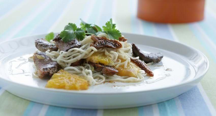 Andebryst opskrift med figen og salat - Se den her