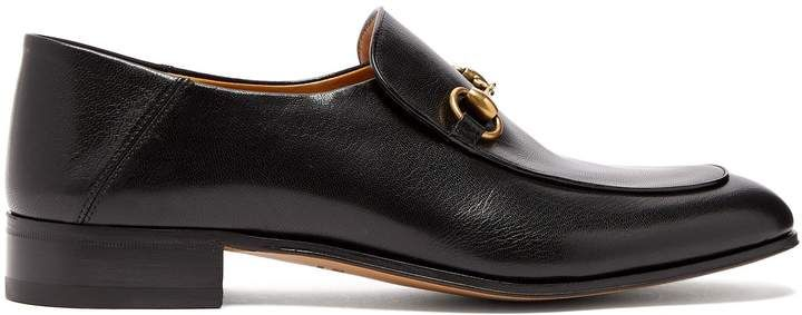 0a0adf60b GUCCI Mister New Horsebit leather loafers.#add#affiliate#gucci ...