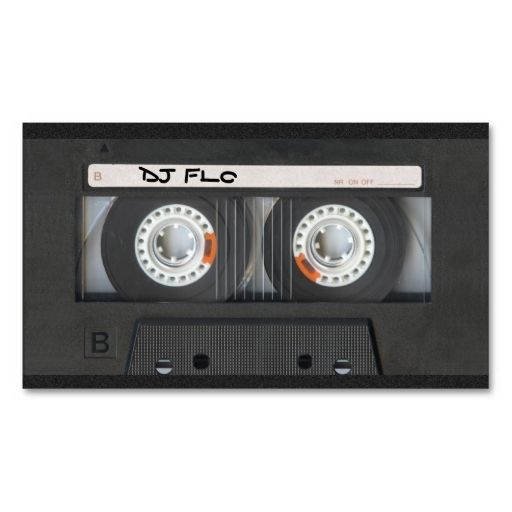 Cassette tape business cards for djs make your own business card cassette tape business cards for djs make your own business card with this great design reheart Choice Image