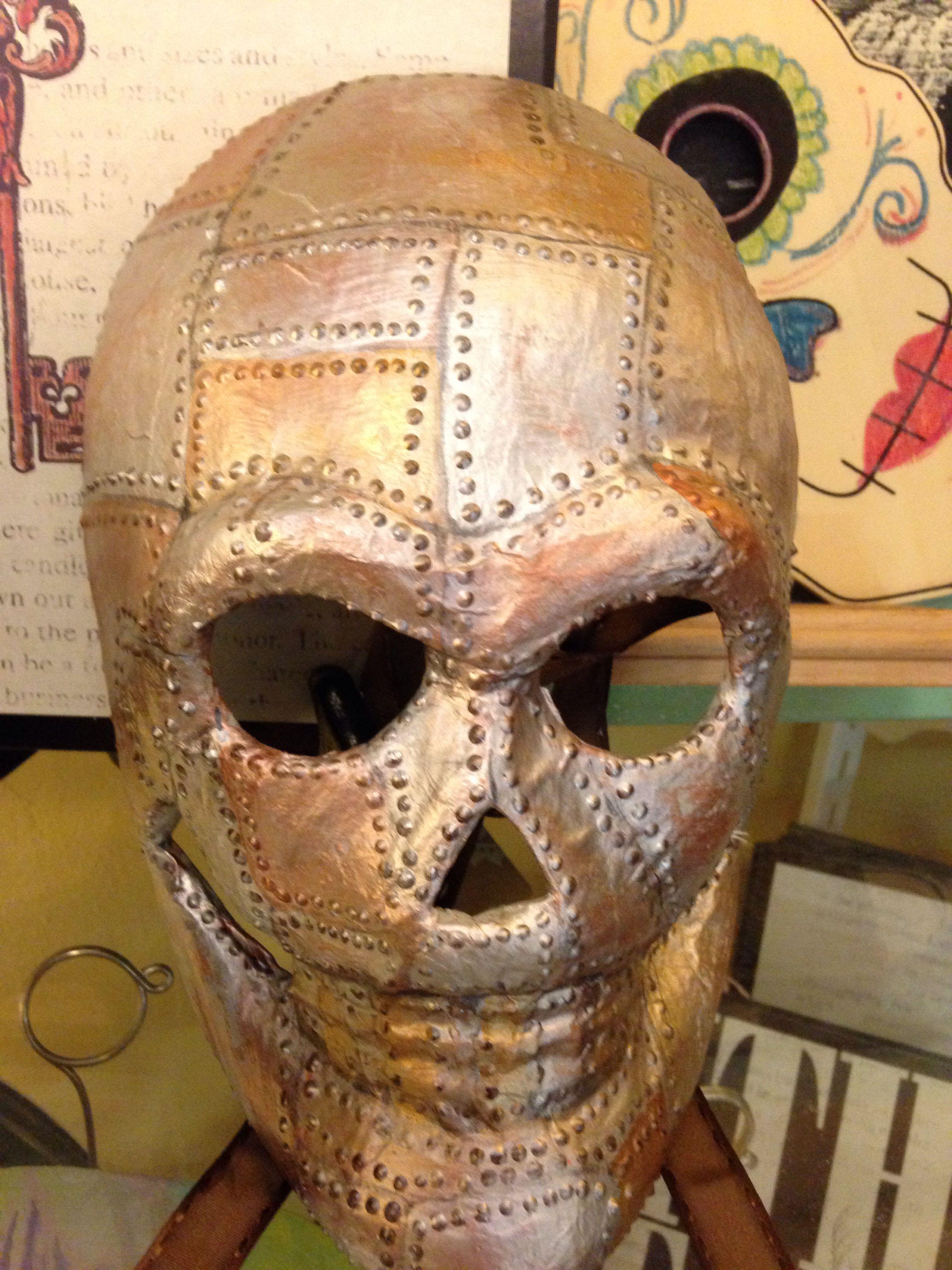 Skull Mask by Maggie O Hara Art by Maggie O Hara