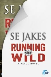 Excited about this being the first book in the Havoc Motorcycle Club series. M/M Bikers! Running Wild by SE Jakes | June 30th 2014 (not the final cover yet)