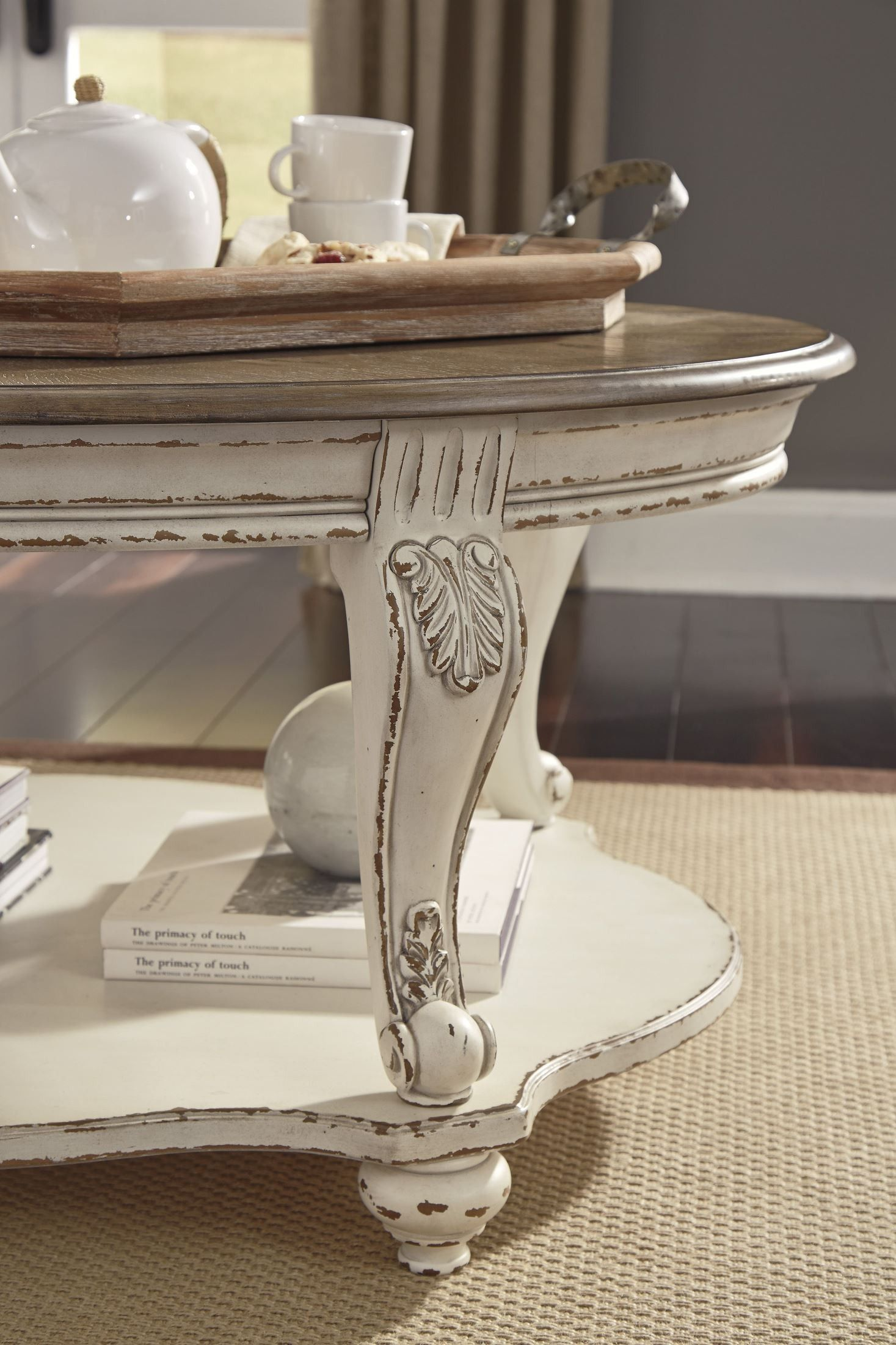 31+ White oval coffee table set trends