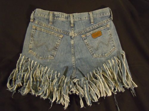 long fringe shorts