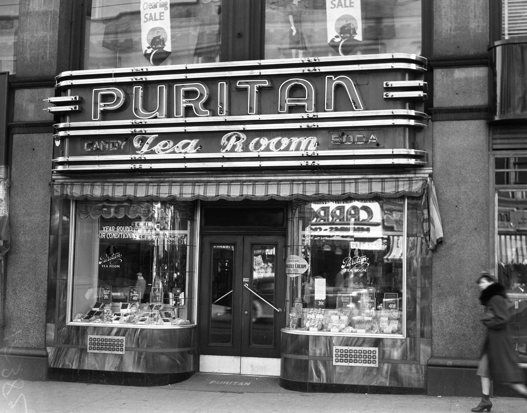 Puritan Cafe Portland Maine 1940 Tea Room Portland Maine Photo