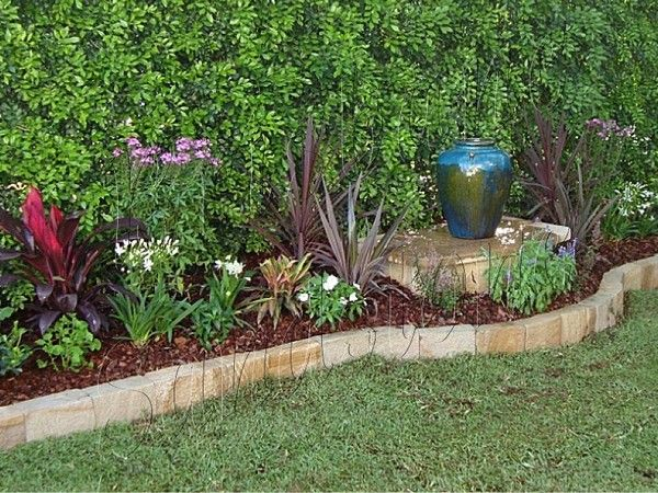 Cheap Lawn Edging Ideas Home Depot Garden Edging Ideas