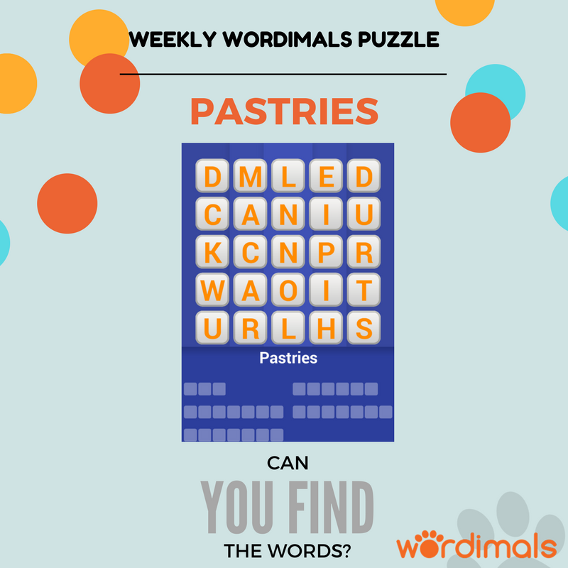 Can you find all the words? Download Wordimals now