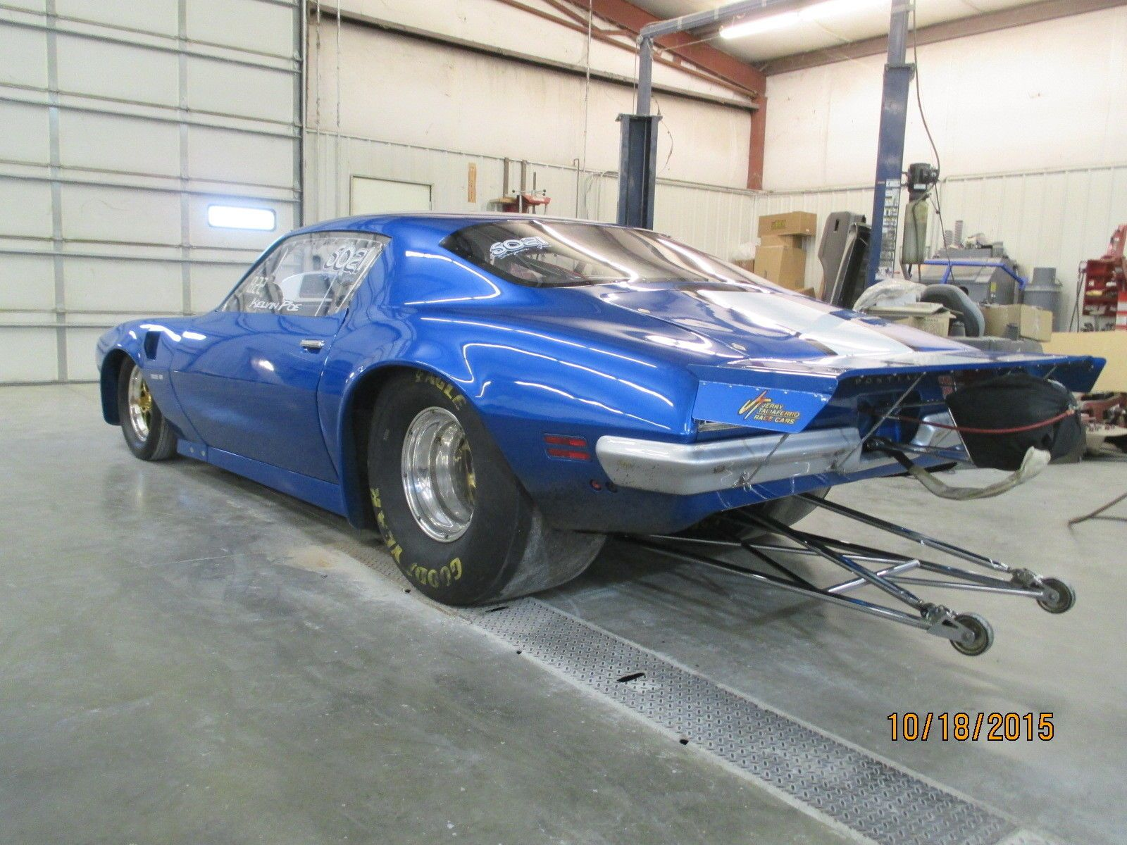 1970 Pontiac Trans Am Tube Chassis Drag Car 4 | Go Pro Street or ...